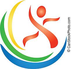 logotipo, figura, idoneità