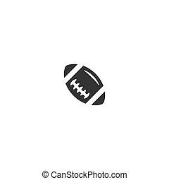 logotipo, icona, football americano
