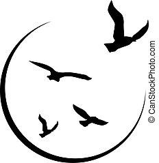 logotipo, libertà