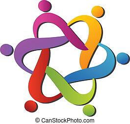 logotipo, porzione, squadra