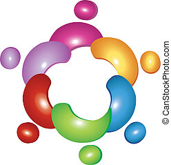 logotipo, squadra, fiore