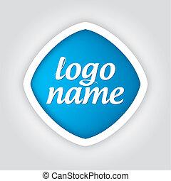 logotipo, universale, sagoma