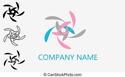 logotipo, web, vettore, ii