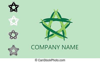 logotipo, web, vettore