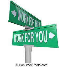 loro, propri affari, imprenditore, lavoro, segno, inizio, vs, lei, tuo