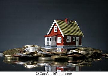 lotti, casa, soldi., nuovo