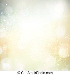 luce, astratto, bokeh, priorità bassa blurry, puntino