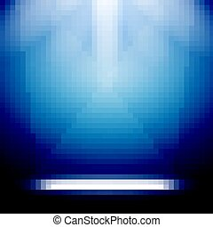 luce, astratto, luminoso, fondo, rays., palcoscenico