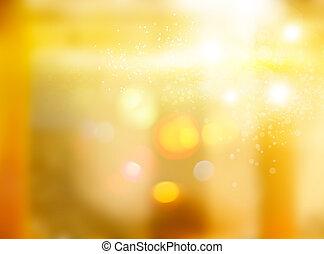 luce, atmosfera, riscaldare, bagliore