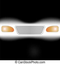 luce, automobile, gruppi ottici anteriori