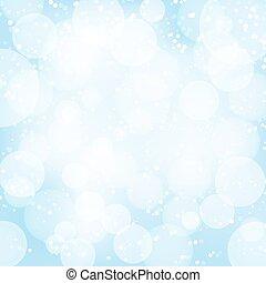 luce blu, astratto, effects., vettore, fondo