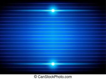 luce blu, astratto, illustrazione, fondo., vettore, disegno