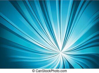 luce blu, astratto, torto, fondo
