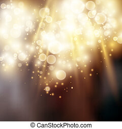 luce, bokeh, fondo