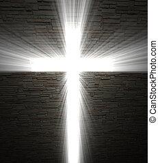 luce, cristiano, croce