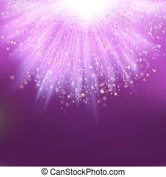 luce, eps, sfavillante, burst., 10
