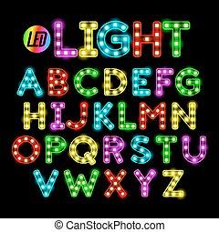 luce, font, condotto, nastro, striscia