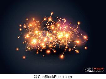 luce, fusione