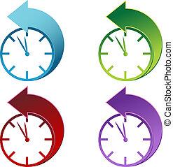 luce giorno, risparmi, orologio, tempo