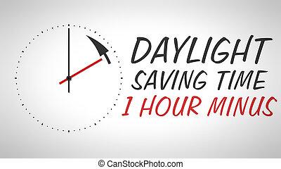 luce giorno, risparmio, tempo