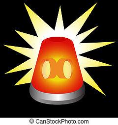 luce, lampeggio, avvertimento