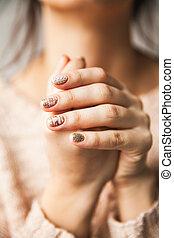 luce, manicure