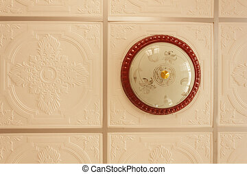 luce, soffitto