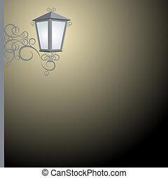luce, strada