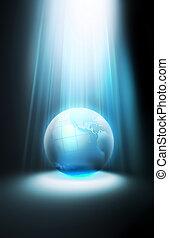 lucente, pianeta