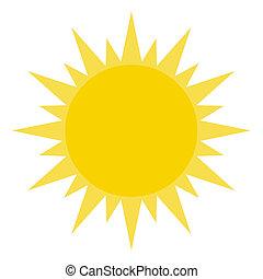 lucente, sole, giallo