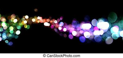 luci, astratto