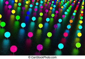 luci, astratto, neon
