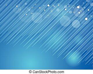 luci blu, fondo