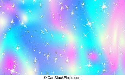 luci, colori, fondo., natale, arcobaleno