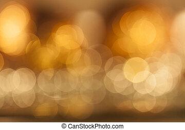 luci, colorito, fondo, sfocato