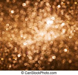 luci, oro, fondo.