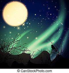 luci, settentrionale