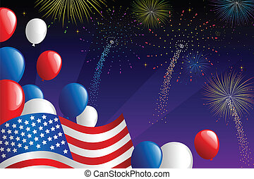 luglio, fireworks, quarto
