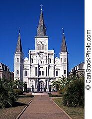 luigi, orleans., santo, cattedrale, nuovo