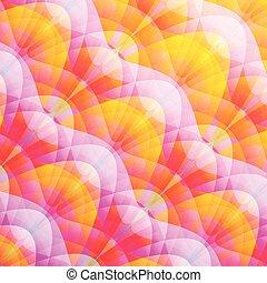 luminoso, astratto, colorito, fondo, mosaico
