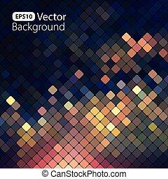 luminoso, colorito, mosaico, fondo