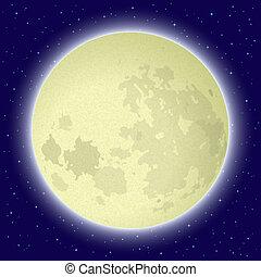 luna, spazio
