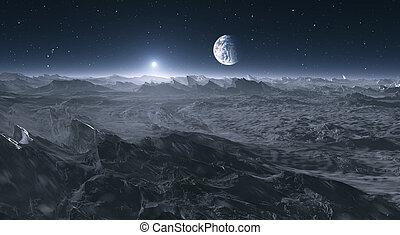 luna, terra