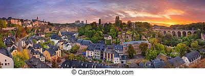 lussemburgo, luxembourg., città