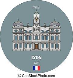 lyon, salone, francia, città