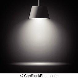 macchia, fondo, luce, astratto