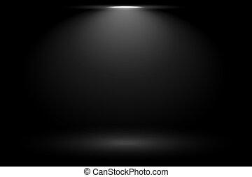 macchia, luce nera, fondo, fuoco