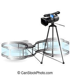 macchina fotografica, video