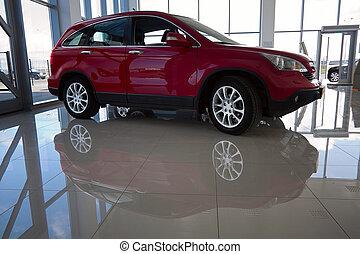 macchina rossa