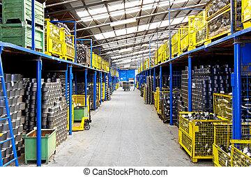 magazzino, industria